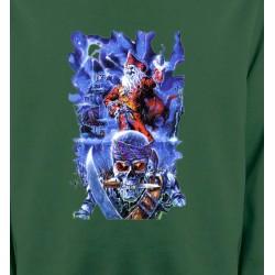 Sweatshirts Tribal Métal Celtique Tête de mort et pirate