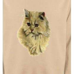 Sweatshirts Sweatshirts Unisexe Chat Persan sable (R)