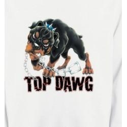 Sweatshirts Tribal Métal Celtique Rottweiler (I)