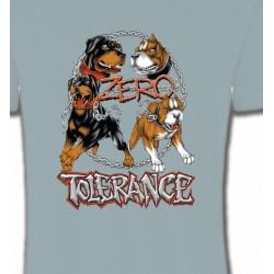 T-Shirts Rottweiler Rottweiler zéro tolérance (B)