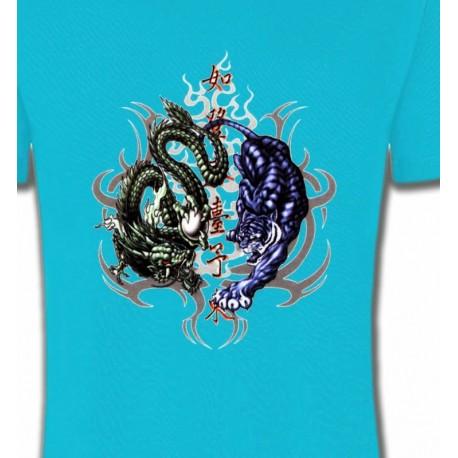 Dragons bleu et vert (W4)