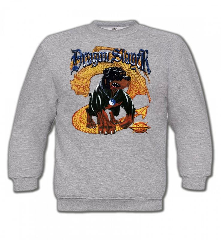 Sweatshirts EnfantsDragonsRottweiler et Dragon (H)