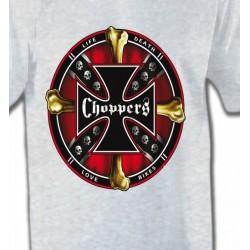 T-Shirts Tribal Métal Celtique Choppers (K)