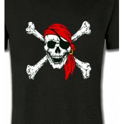 T-Shirts Tribal Métal Celtique Crâne pirate