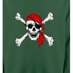 Sweatshirts Tribal Métal Celtique Crâne pirate