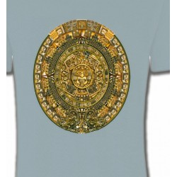T-Shirts Tribal Métal Celtique Blason maya
