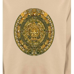 Sweatshirts Tribal Métal Celtique Blason maya
