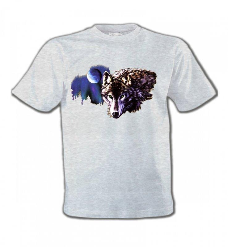 T-Shirts Col Rond EnfantsLoupsLa nuit du loup (S2-C)