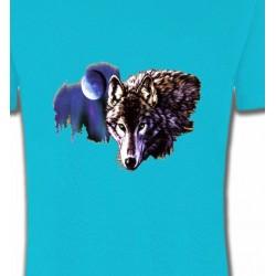 T-Shirts Animaux de la nature La nuit du loup (S2-C)