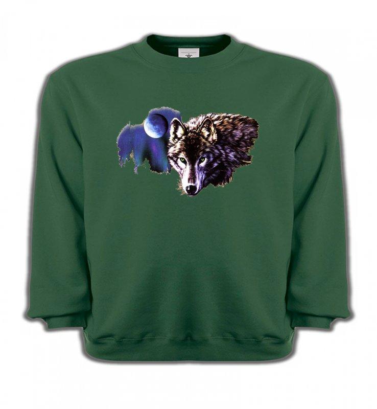 Sweatshirts EnfantsLoupsLa nuit du loup (S2-C)