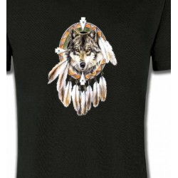 T-Shirts Loups Loup indien (S)