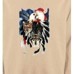 Sweatshirts Sweatshirts Enfants Loup Puma Aigle (R)