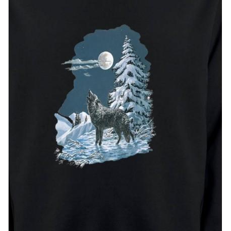 Loup dans la neige (T)