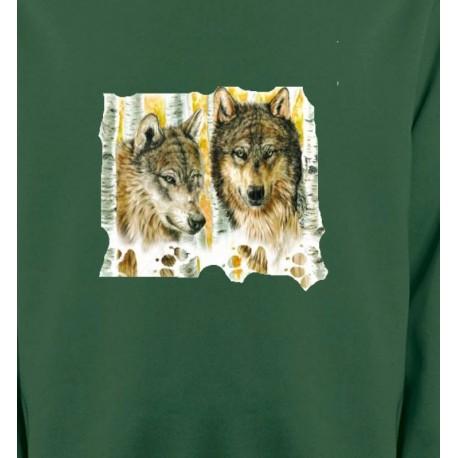 Loups dans la forêt (O)