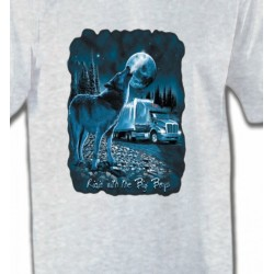 T-Shirts Loups Loup Camion (N)