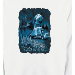 Sweatshirts Animaux de la nature Loup Camion (N)