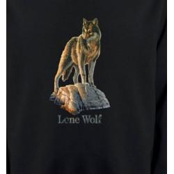 Sweatshirts Loups Loup aux aguets (M)