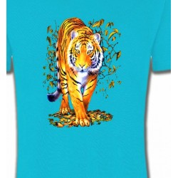 T-Shirts Animaux de la nature Tigre (H)