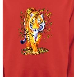 Sweatshirts Animaux de la nature Tigre (H)