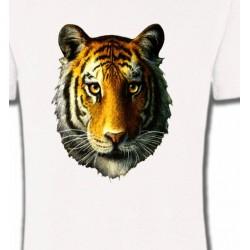 T-Shirts Animaux de la nature Tête de tigre (K)