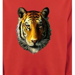 Sweatshirts Animaux de la nature Tête de tigre (K)