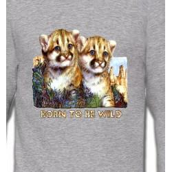 Sweatshirts Animaux de la nature Bébés tigres