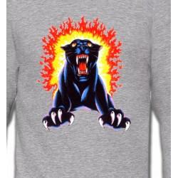 Sweatshirts Animaux de la nature Panthère noire