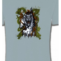 T-Shirts Animaux de la nature Griffes de tigre et dragon