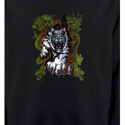 Sweatshirts Animaux de la nature Griffes de tigre et dragon
