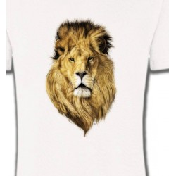 T-Shirts Animaux de la nature Tête de lion (X2)
