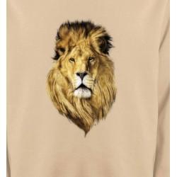 Sweatshirts Animaux de la nature Tête de lion (X2)