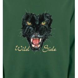 Sweatshirts Animaux de la nature Tigre Noir (G)