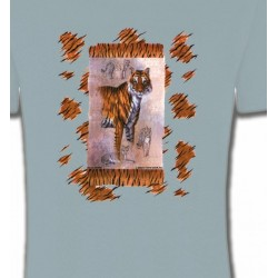 T-Shirts Animaux de la nature Tigre (F2)