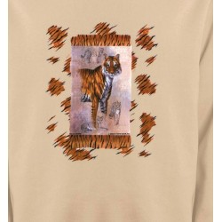 Sweatshirts Animaux de la nature Tigre (F2)