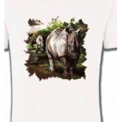 T-Shirts Animaux de la nature Rhinocéros
