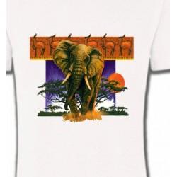 T-Shirts Animaux de la nature Éléphant