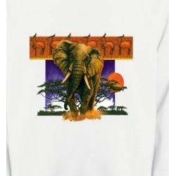 Sweatshirts Animaux de la nature Éléphant
