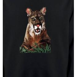Sweatshirts Animaux de la nature Cougar