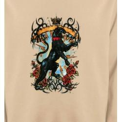Sweatshirts Animaux de la nature Panthère noir