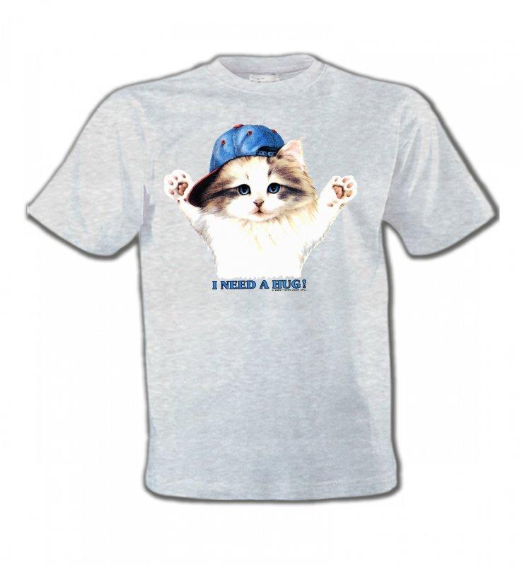 T-Shirts Col Rond EnfantsRaces de chatsChaton Ragdoll (Z2)