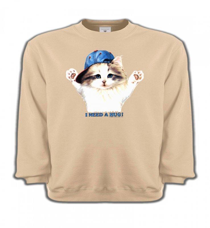 Sweatshirts EnfantsRaces de chatsChaton Ragdoll (Z2)