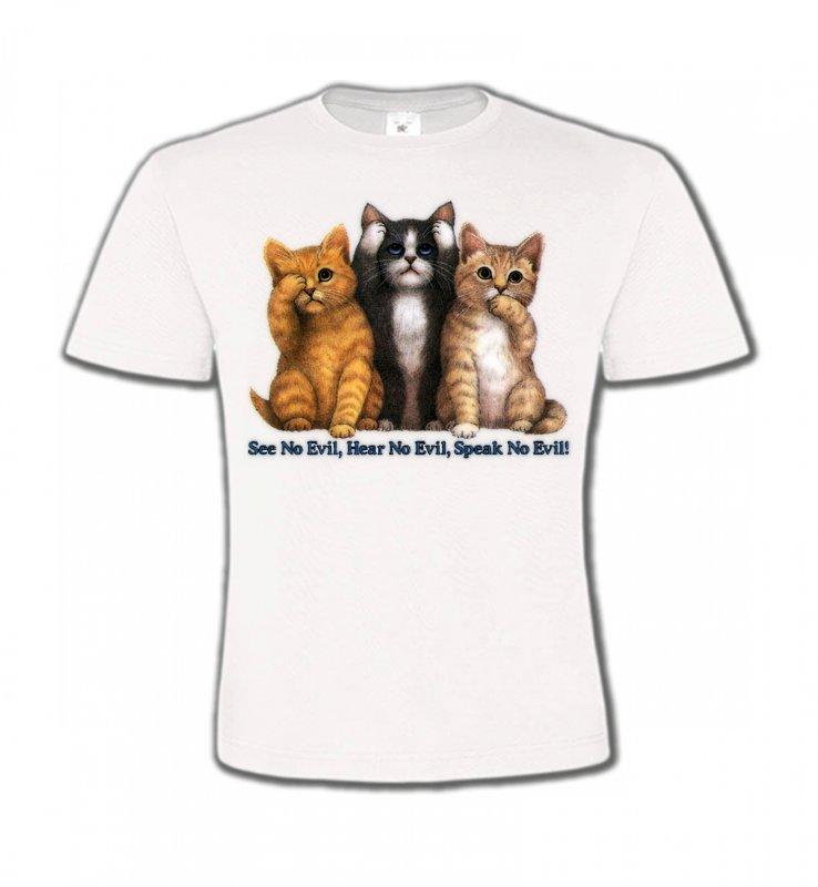 T-Shirts Col Rond EnfantsRaces de chatsChatons humour (I)