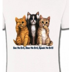 T-Shirts Races de chats Chatons humour (I)