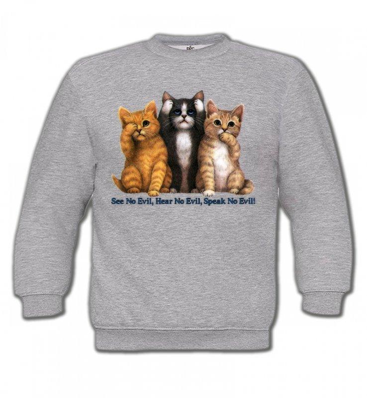 Sweatshirts EnfantsRaces de chatsChatons humour (I)
