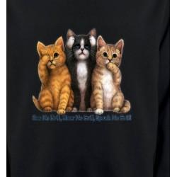 Sweatshirts Sweatshirts Enfants Chatons humour (I)