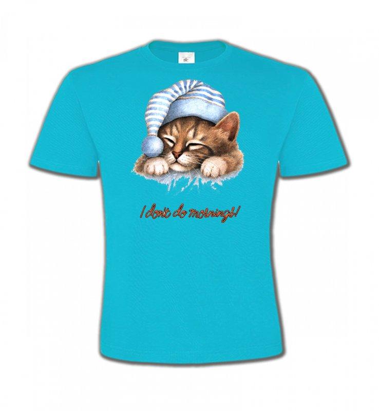 T-Shirts Col Rond EnfantsRaces de chatsChaton Dodo (E)