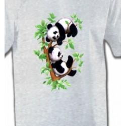 T-Shirts Enfants Bébé Pandas (B)