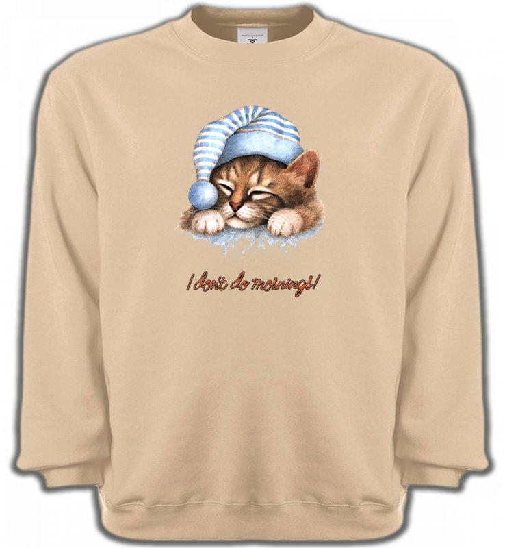 Sweatshirts UnisexeRaces de chatsChaton Dodo (E)
