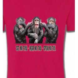 T-Shirts Signes astrologiques 3 Chimpanzés