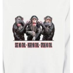 Sweatshirts Signes astrologiques 3 Chimpanzés